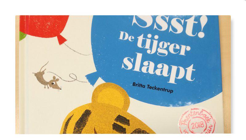 Ssst! De tijger slaapt. Prentenboek van het jaar 2018