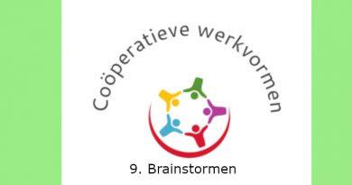 Coöperatieve werkvormen 9: Brainstormen