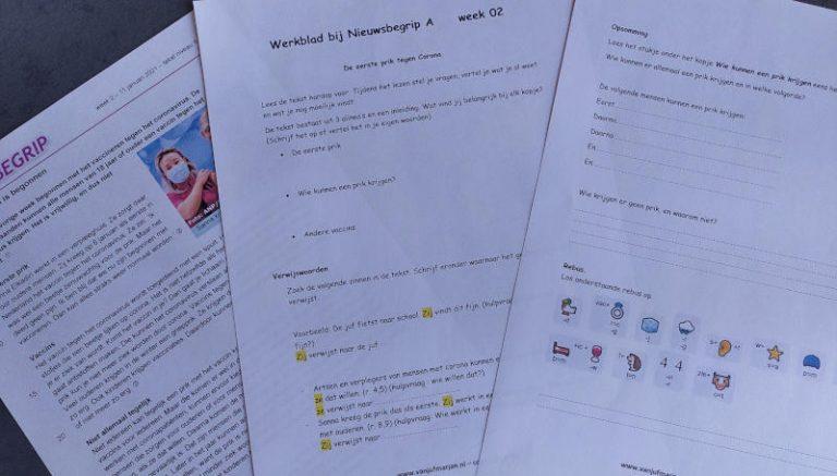 Nieuwsbegrip en thuisonderwijs week 2