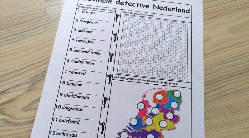 Provincie detective Nederland